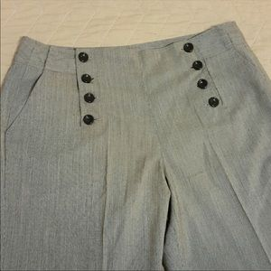 High Waisted Sailor Pants!